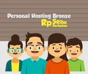 Hosting Murah Unlimited Bandwith Cuman 5 rb per bulan